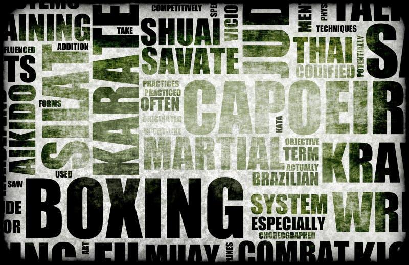 бокс бесплатная иллюстрация
