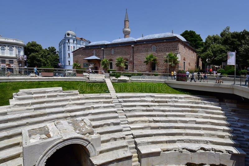 Болгария, Пловдив, городской стоковые изображения rf