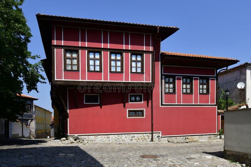 Болгария, Пловдив, старый городок стоковые фотографии rf