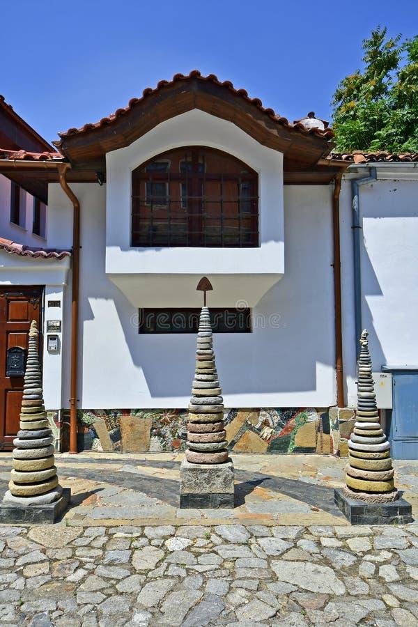 Болгария, старый городок Пловдив стоковые фото
