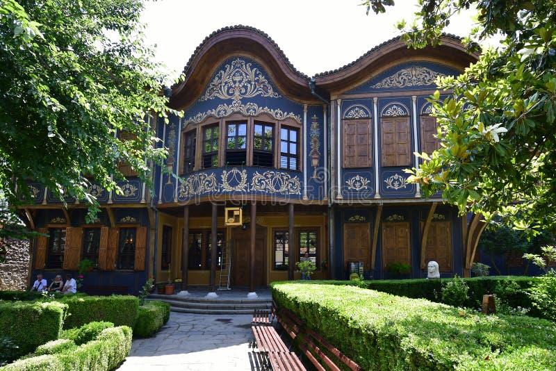 Болгария, старый городок Пловдив стоковая фотография rf