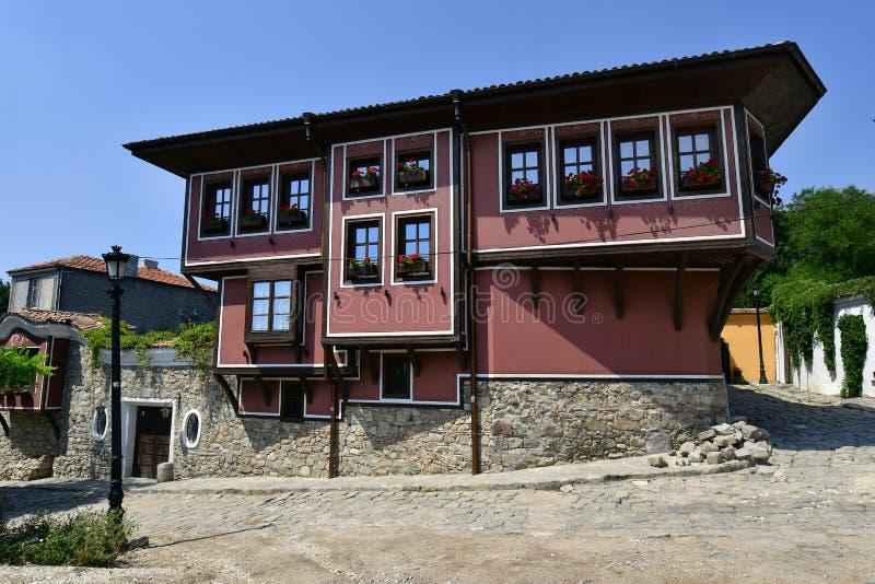 Болгария, старый городок Пловдив стоковое фото