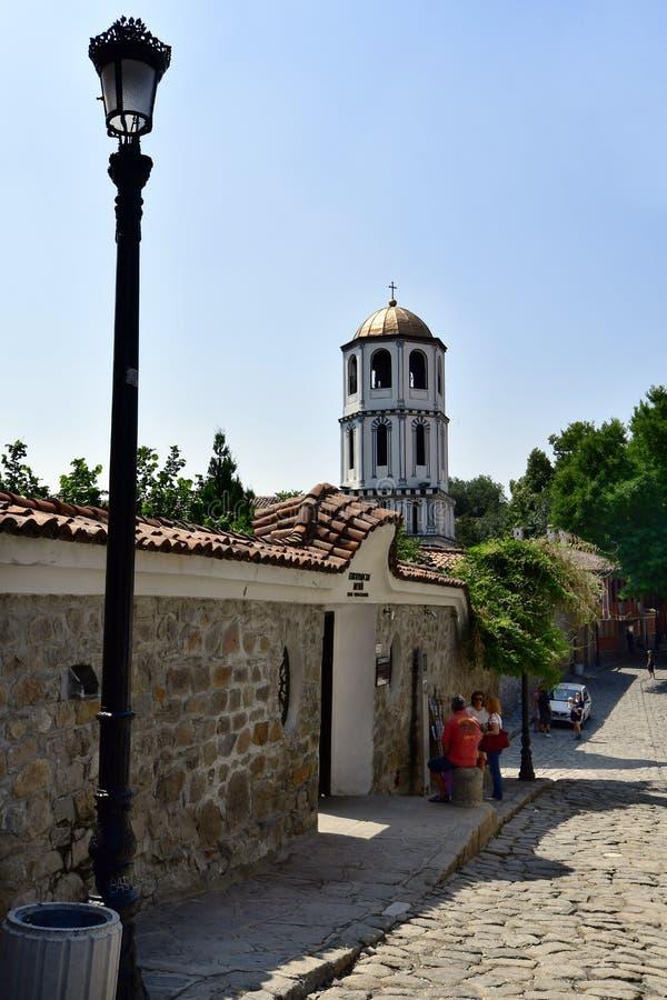 Болгария, старый городок Пловдив стоковые изображения rf