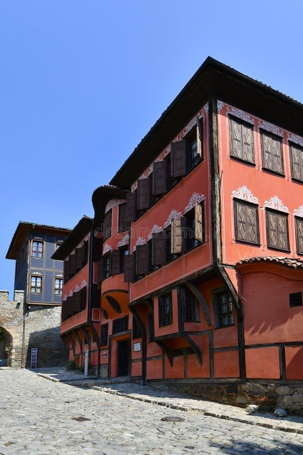 Болгария, старый городок Пловдив стоковое изображение