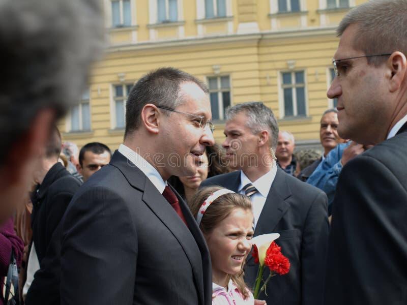 болгарская публика главного министра стоковое изображение rf