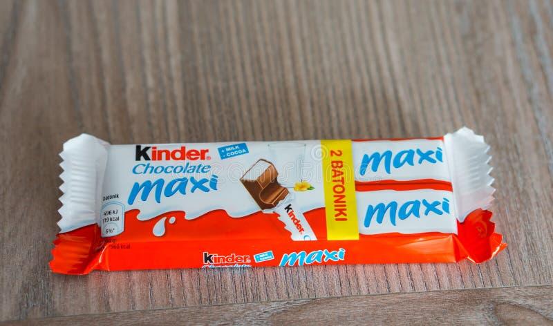Более добросердечный шоколад макси стоковая фотография