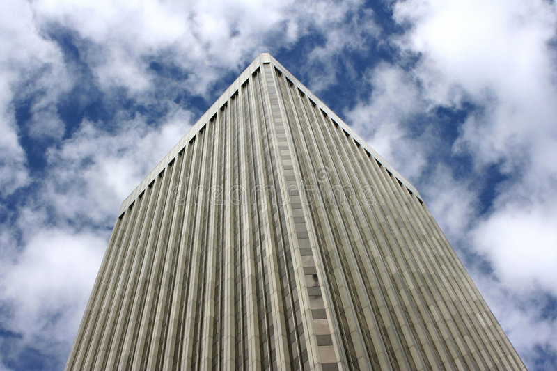 более ненастная башня seattle стоковые фотографии rf