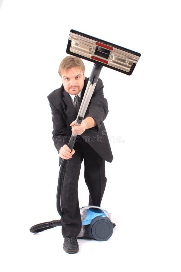 более чистый вакуум менеджера стоковая фотография rf