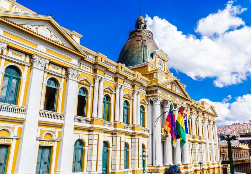 Боливийское здание правительства, Ла Paz - Боливия стоковое изображение