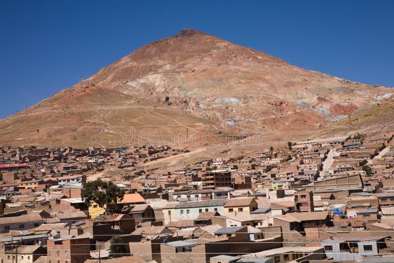 Боливия potosi стоковая фотография rf