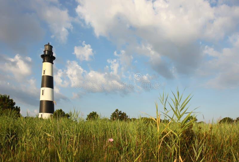 болотоы маяка острова bodie стоковые изображения rf