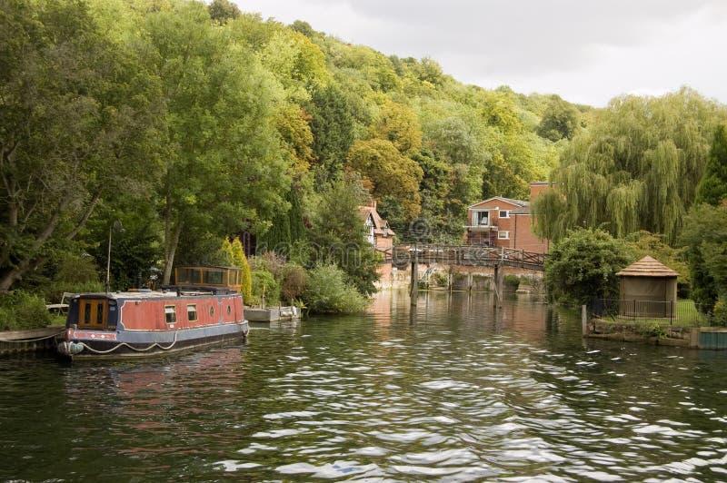 болото thames замка henley стоковое изображение