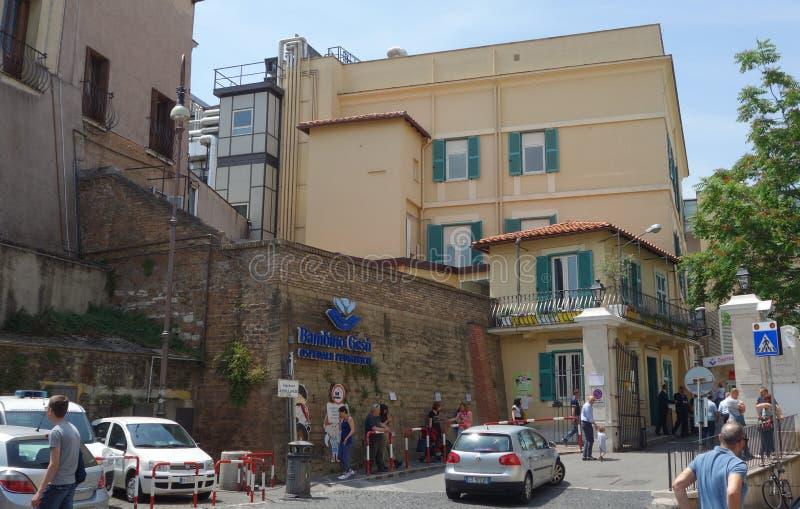 Больница Bambin Gesu в Риме стоковые изображения