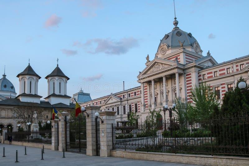 Больница ea› ColÈ в Бухаресте, Румынии Фото было принято в апреле 2018 стоковая фотография rf