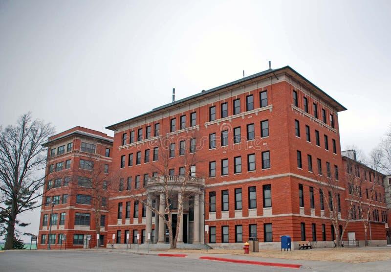 Больница Leavenworth Канзас VA стоковые изображения rf