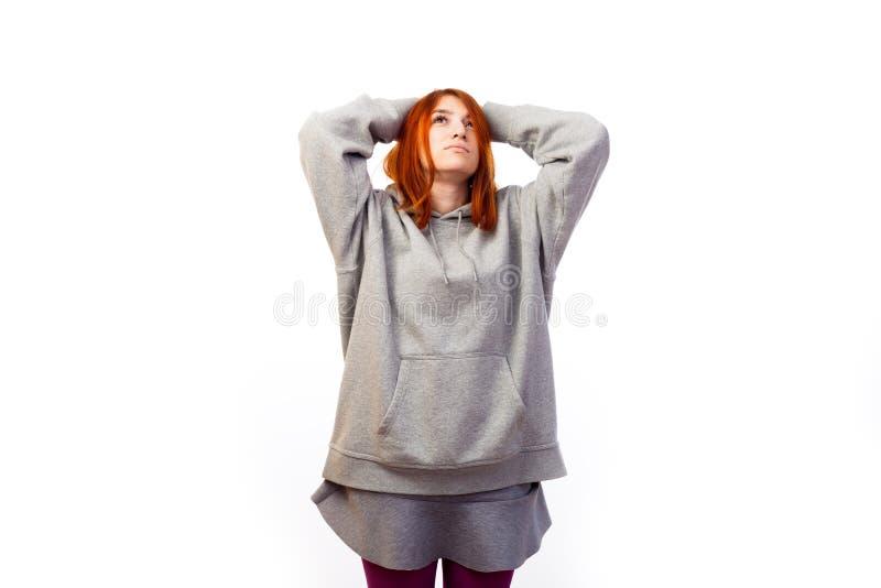 больной молодой женщины стоковые фотографии rf