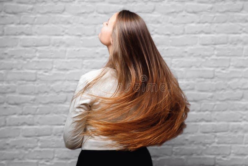 Больной, отрезанный и здоровый кератин ухода за волосами стоковые изображения