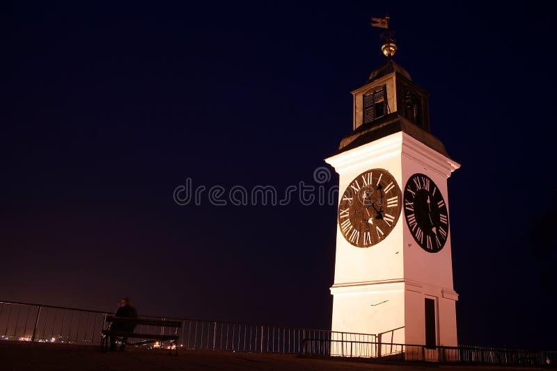 большая башня часов стоковые фото
