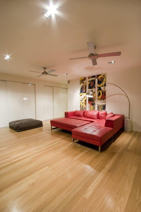 большая живущая комната стоковая фотография