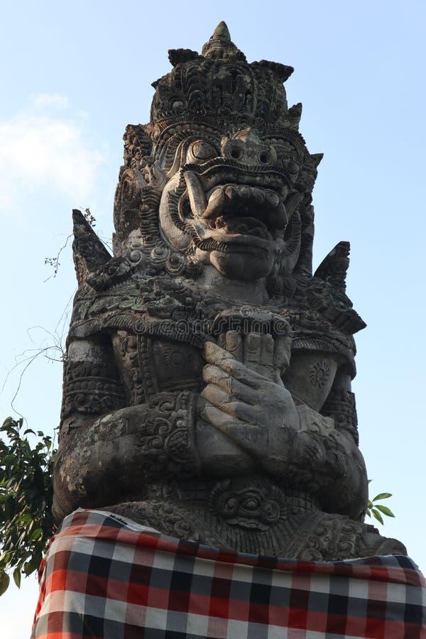 Большая каменная статуя стоковая фотография rf
