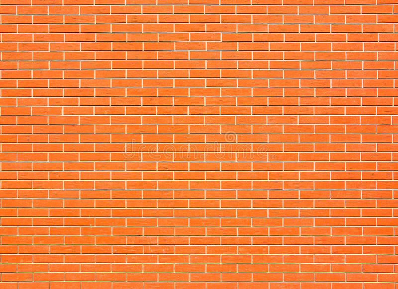Большая кирпичная стена стоковая фотография