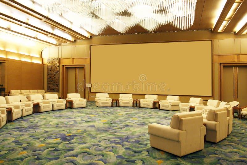 большая комната приема стоковые изображения rf