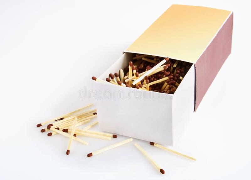 Большая коробка спичек стоковые изображения rf