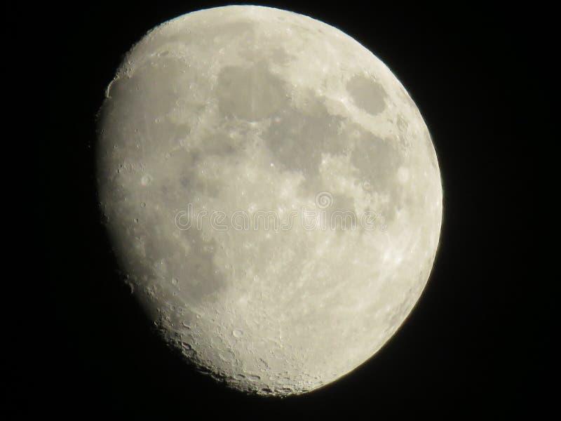большая луна стоковое изображение rf