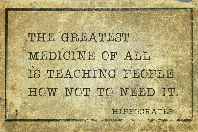 Большая медицина Гиппократ стоковая фотография rf