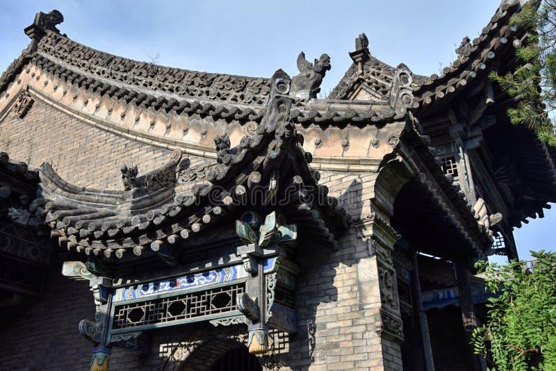 Большая мечеть в метрополии XiÂ'An, провинции Шэньси, Китае стоковые фотографии rf