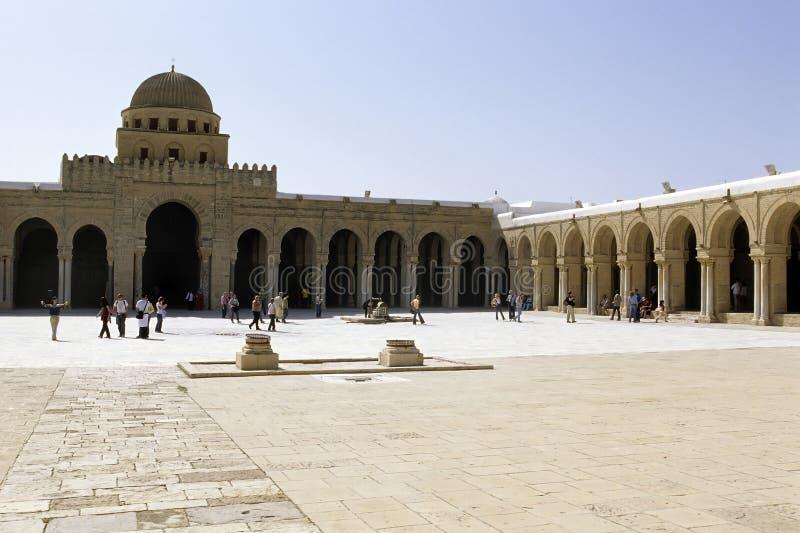 большая мечеть Тунис стоковое изображение rf