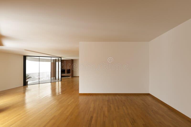 большая пустая комната стоковые фотографии rf
