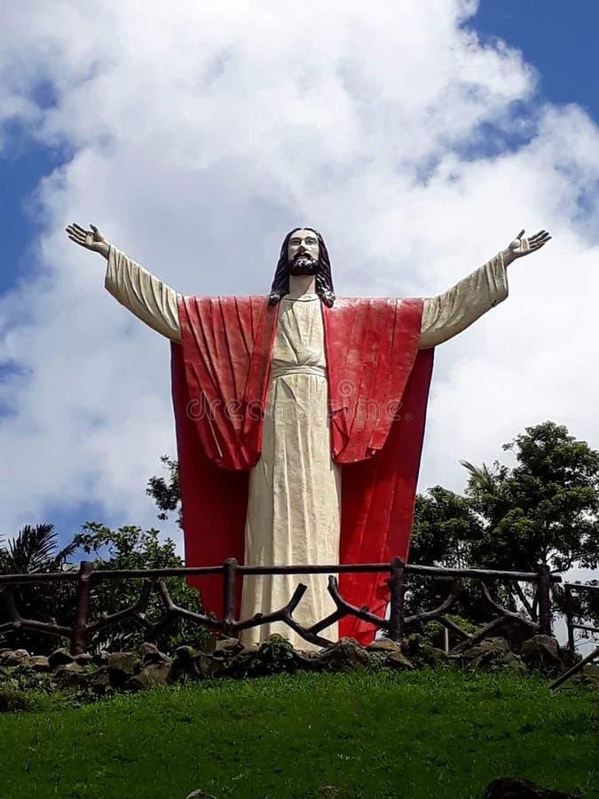 Большая статуя на Ni Hesus Kamay стоковое фото rf