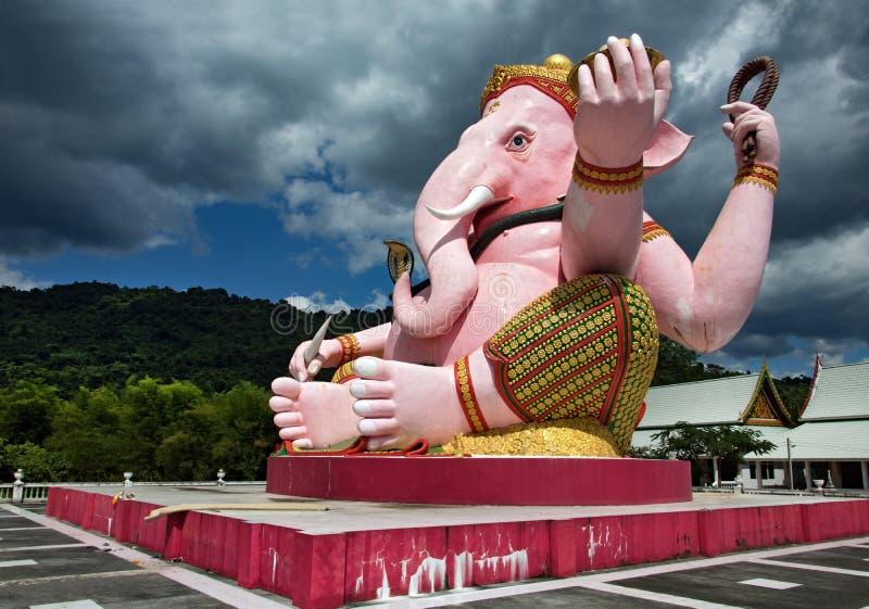 Большая статуя слона стоковое изображение rf