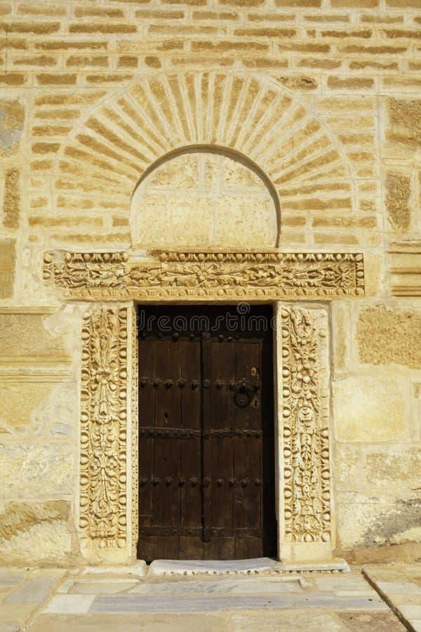большая kariouan мечеть Тунис стоковое изображение