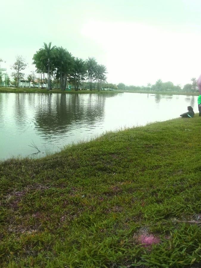 Большее озеро стоковое фото rf