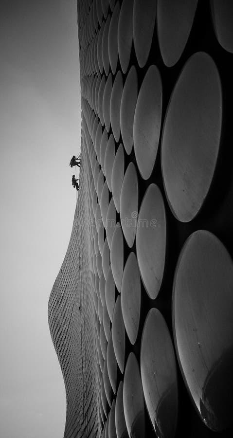 Большее соизволение в Бирмингеме на selfridges стоковые изображения rf