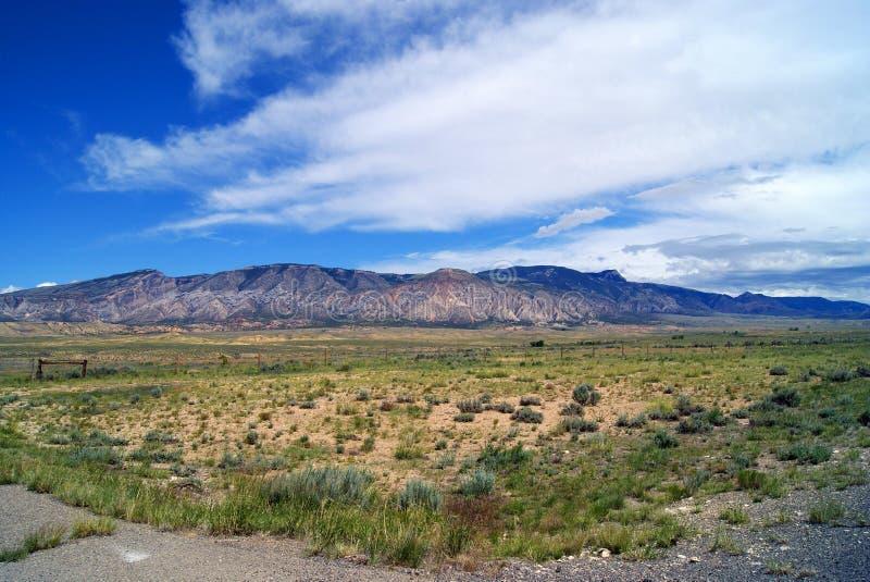 большие горы рожочка стоковые фотографии rf