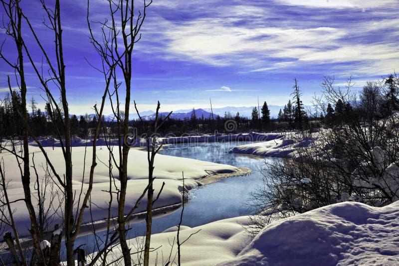 Большие горы Teton и большая гребля предложения национального парка Teton, рыбная ловля, и сортированные мероприятия на свежем во стоковая фотография rf
