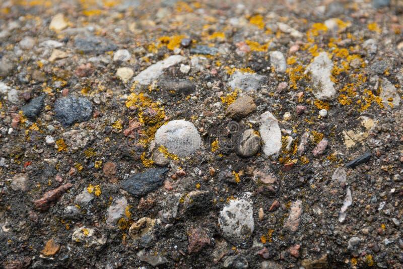 Большие камни в конкретной предпосылке стоковые изображения rf