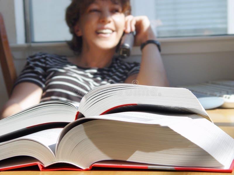большие книги стоковая фотография