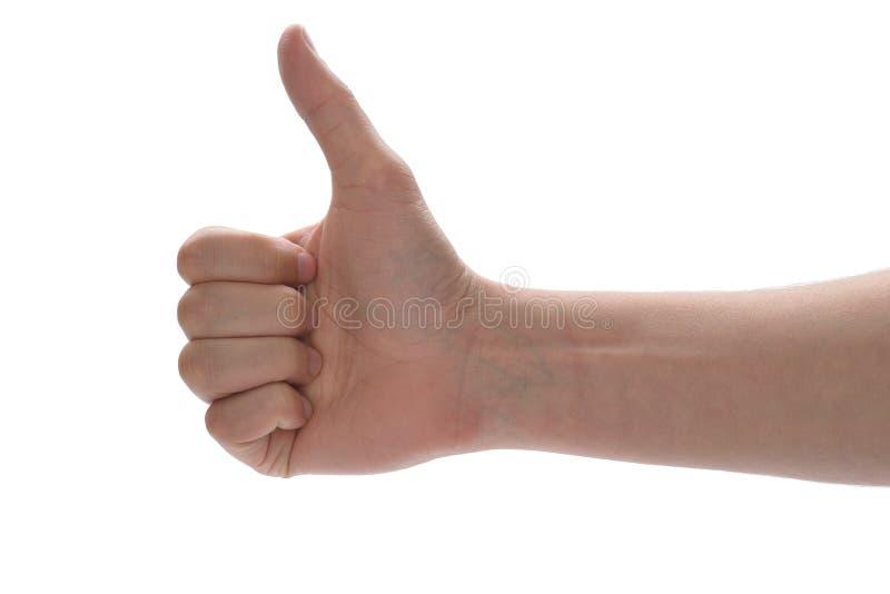 Большие пальцы руки вверх! стоковое фото rf