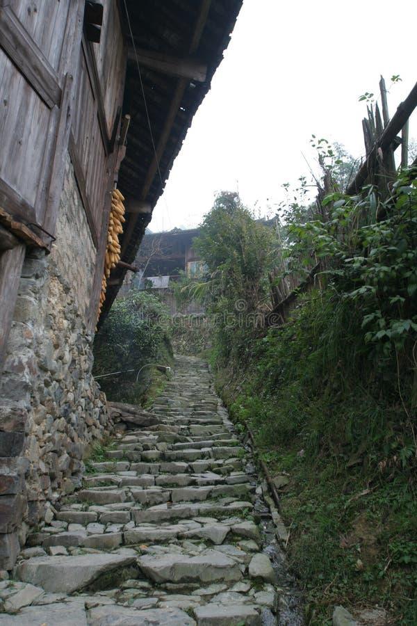 большие первоначально села типа стоковое фото