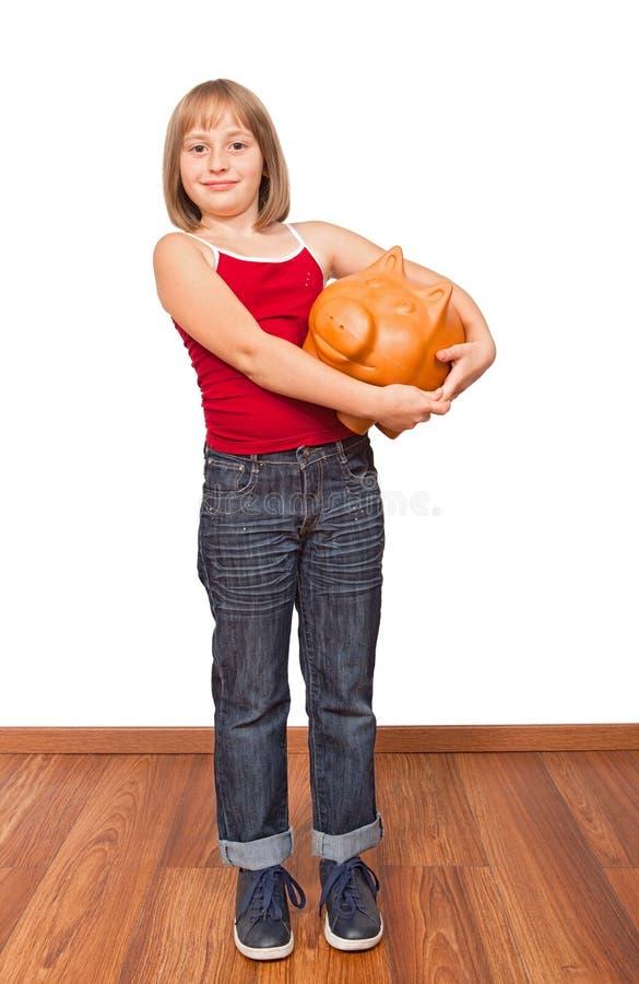 большие самолюбивые сбережения стоковое изображение