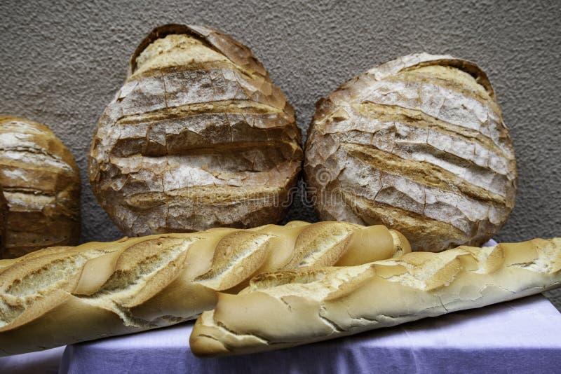 Большие хлебы ремесленника стоковое фото rf
