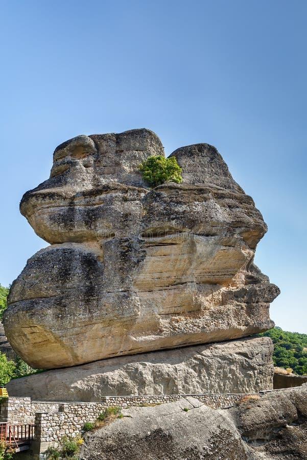 Больший камень в Meteora, Греции стоковая фотография