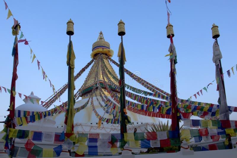 Большое буддийское stupa стоковые фото