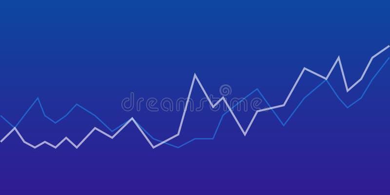 Большое визуализирование данных Диаграмма и диаграмма конспекта графические состоя белизна взгляда со стороны компьтер-книжки дан бесплатная иллюстрация