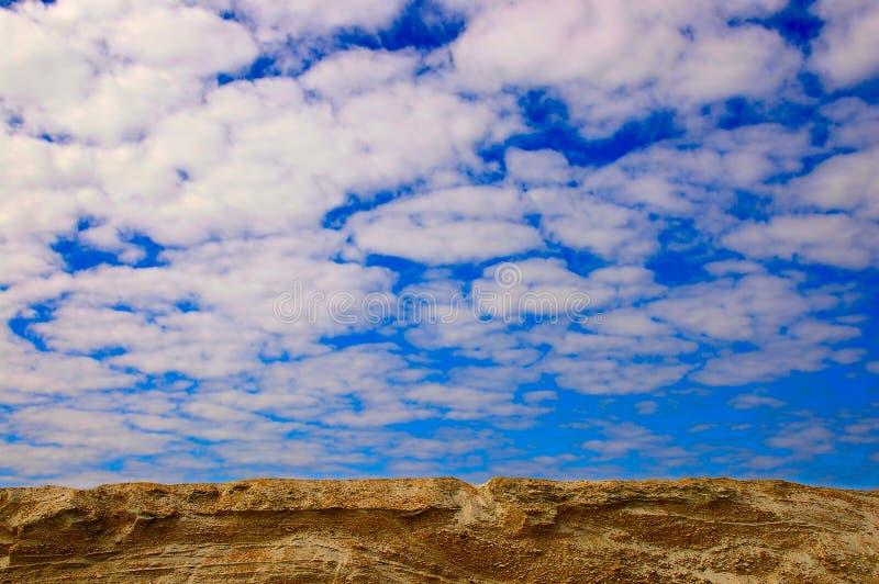 большое небо страны стоковые изображения