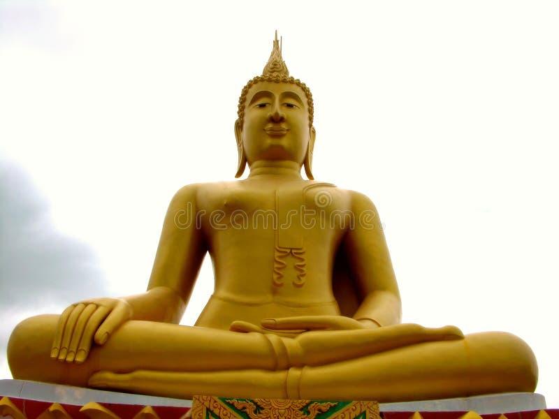 Download большое Samui Таиланд Будды Стоковое Изображение - изображение насчитывающей мир, yellow: 85363